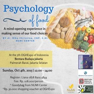 OGH Expo V: Psychology ofFood
